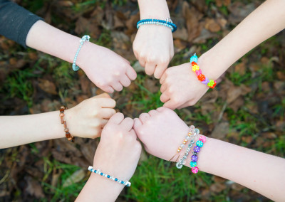 Jewellery making kids party