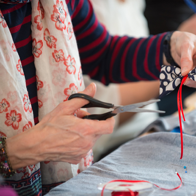 Adult Party at Hullabaloo up-cycling and giving clothes a new lease of life