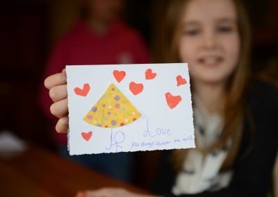 Kids craft party - card making