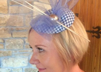 Fabulous fascinator at a Hullabaloo hen party in Letterkenny