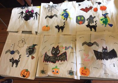 Halloween Treat bags for Social Inclusion week event in Boyle, Co. Roscommon