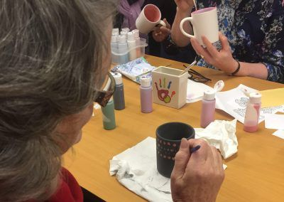 Pottery painting workshop in Family in Carrick-on-Shannon, Ireland