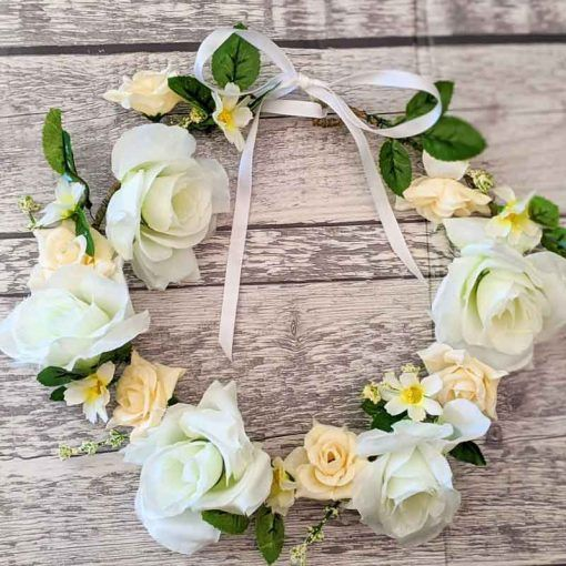 Finished-Flower-Crown-made-with-DIY-craft-kit