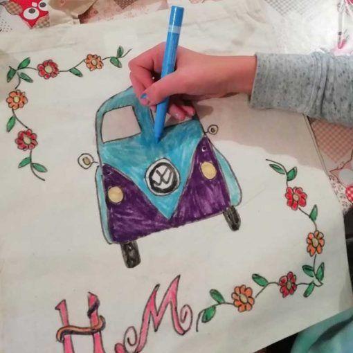 child-drawing-vw-camper-van