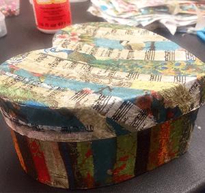Decoupaged-gift-box