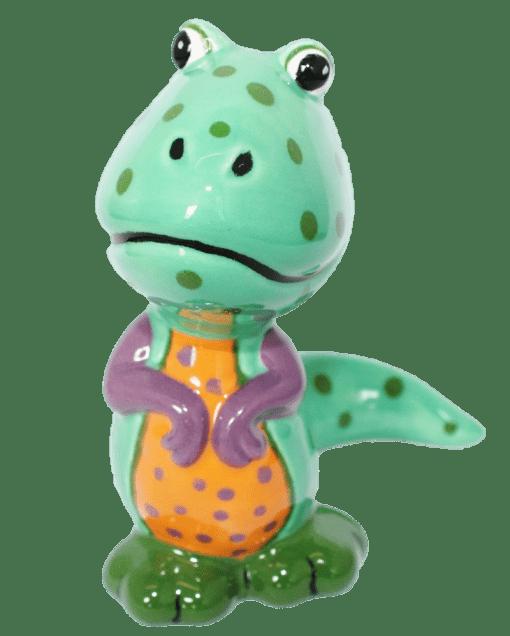 dinosaur-painted-at-hullabaloo-pottery-painting-kids-party