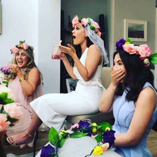 Hen-party-wearing-flower-crowns-dublin