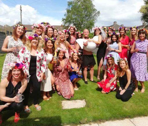 Flower-crown-creative-hen-party-Ireland