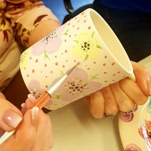 Pottery-painting-hen-party-workshops