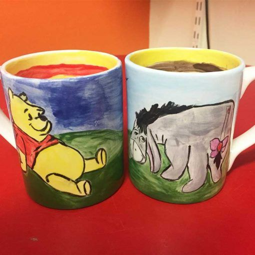 Mug painting workshop in Carrick-on-Shannon