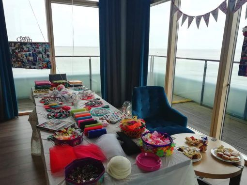 Table-layout-for-fascinator-design-hen-party