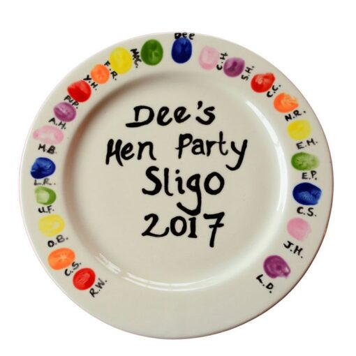 pottery-painting-hen-party-signature-plate
