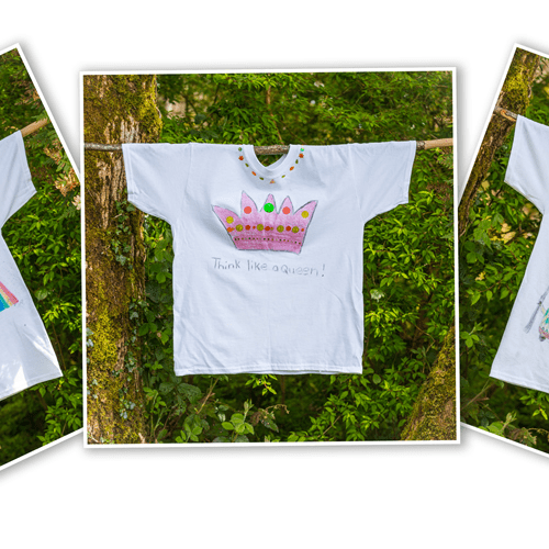 t-shirts-hand-designed-at-a-craft-kids-party-ireland