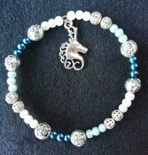unicorn-memory-wire-handmade-bracelet