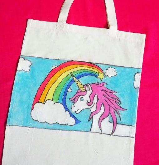 Unicorn-tote-bag-diy-craft-kit