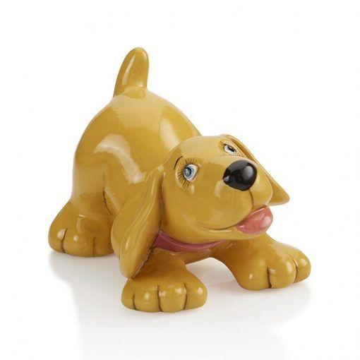 dog-painted-at-hullabaloo-pottery-painting-kids-party