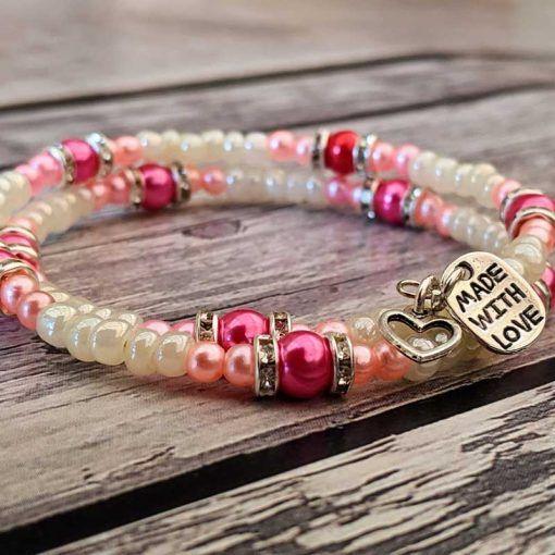 bracelet-made-using-Hullabaloo-jewellery-making-kits