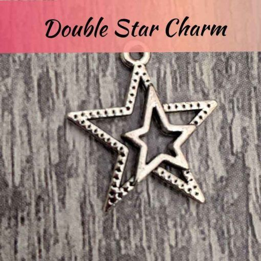 Double-star-charm-jewellery-making-kit