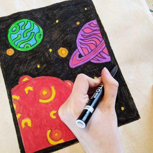 outer-space-canvas-bag-design-theme