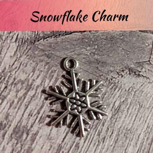 snowflake-silver-charm