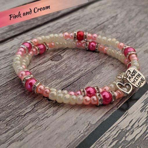 bracelet-made-using-Hullabaloo-jewellery-making-kits-named